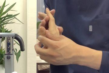 指を動かすー指のリハビリ